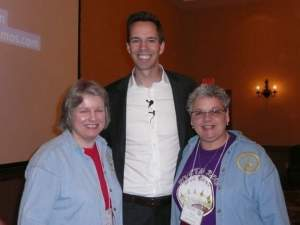 Sheila Ruddle, Dan Meyer, Myrtle Holland